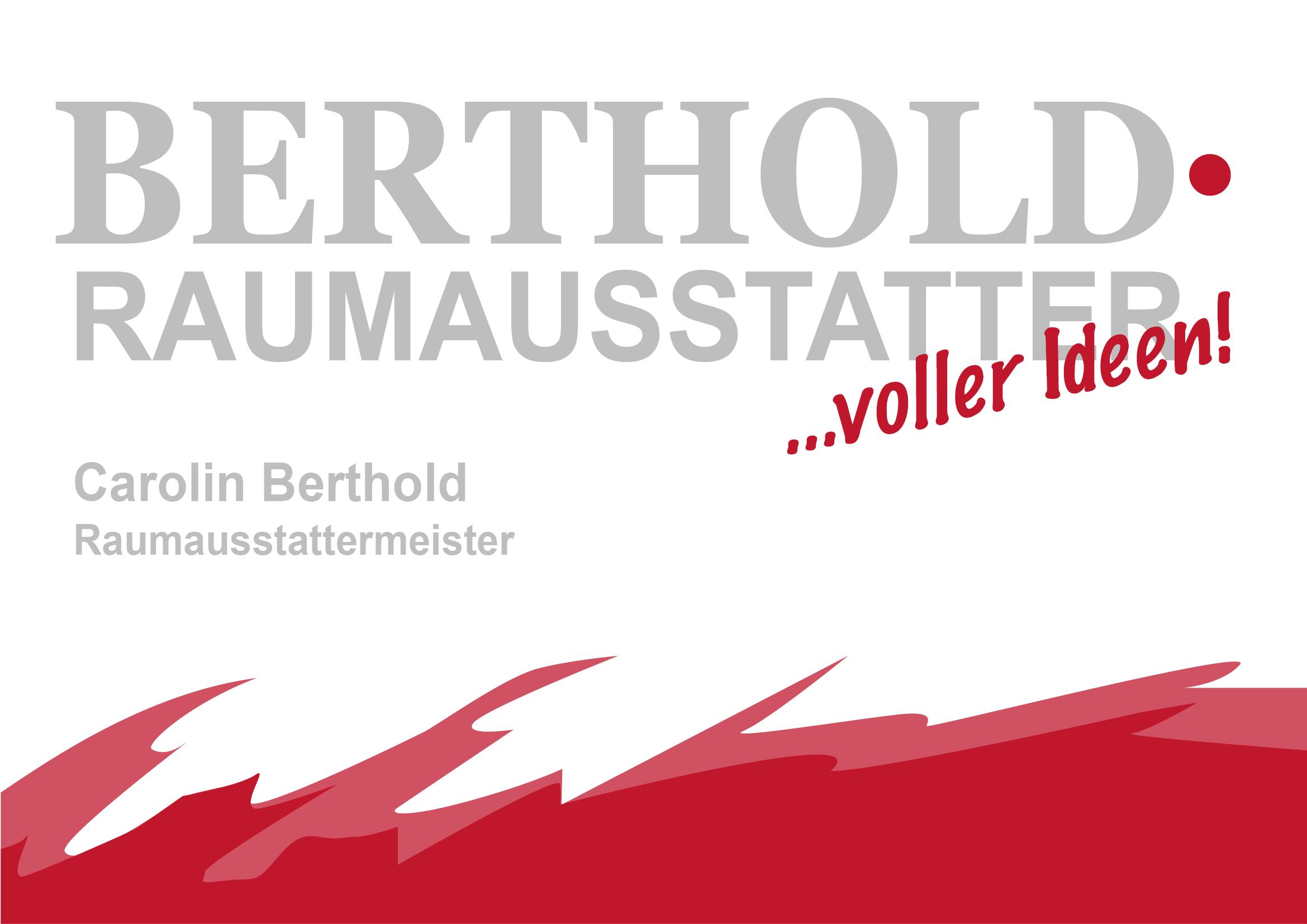 Berthold Raumausstatter Logo